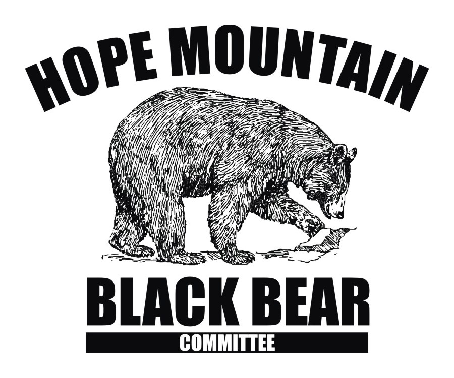 Hope Mountain Black Bear Committee Logo