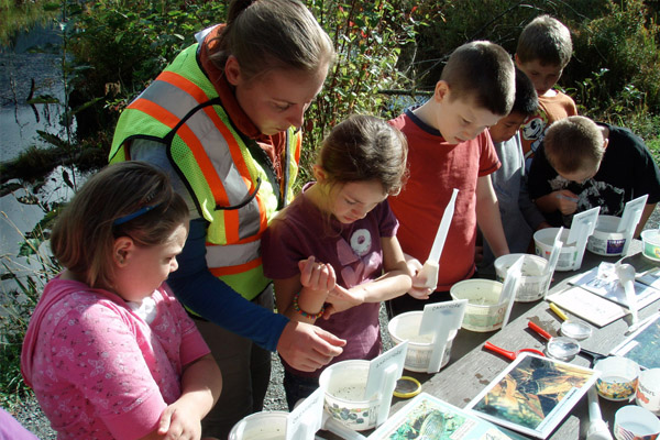 Young Stewards of our Wetlands Hope BC