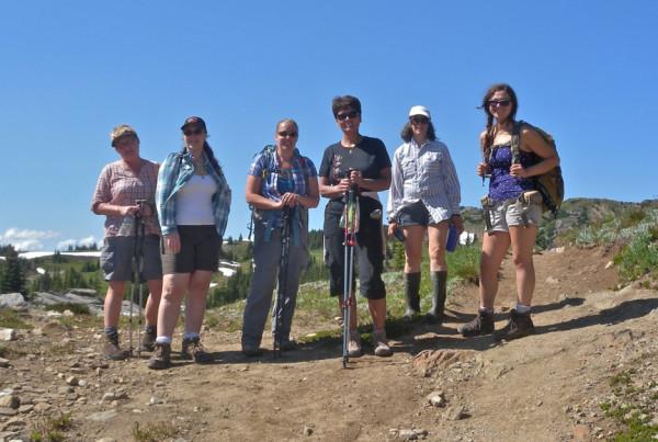 Women's Intermediate Backpacking - Hope Mountain Centre