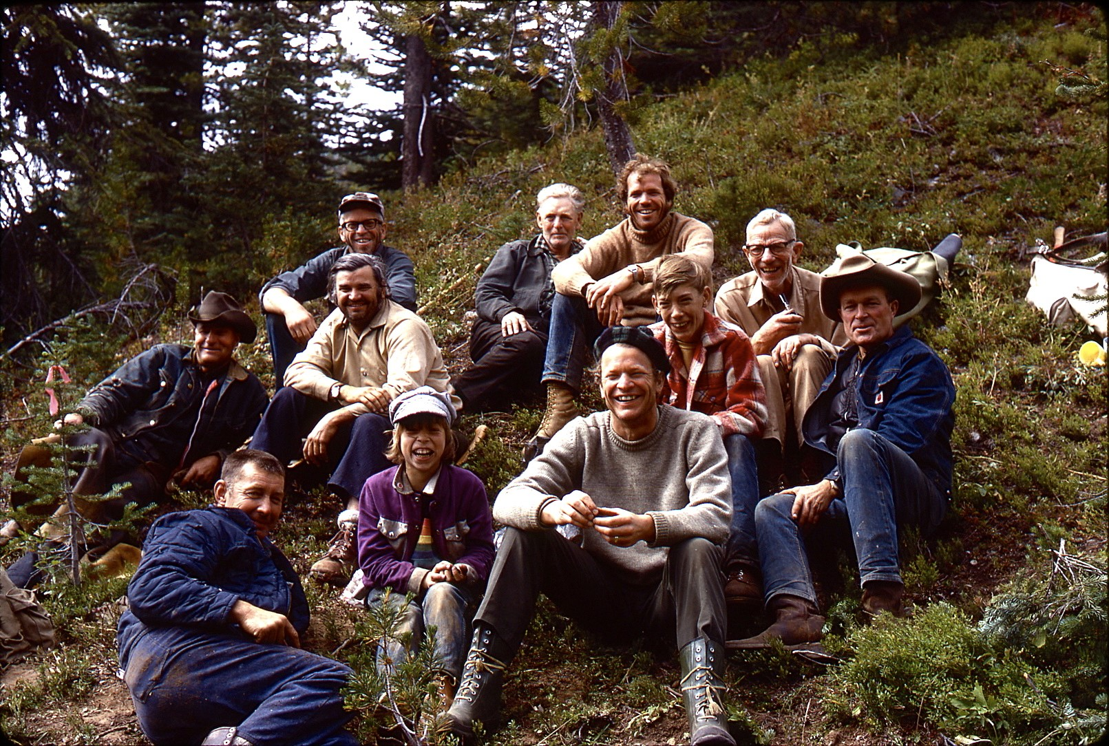 1973 Volunteers HBC Heritage Trail