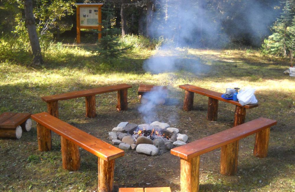 Horseguard Camp - HBC Historic Trail