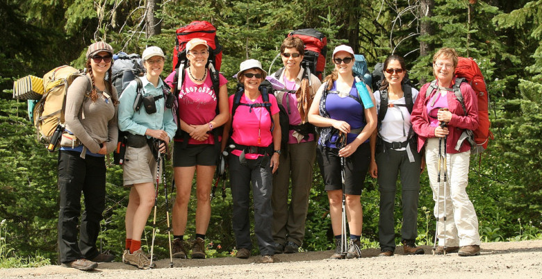 Women's Introductory Backpacking - Hope Mountain Centre