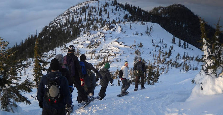 Snowshoeing the Coquihalla Summit