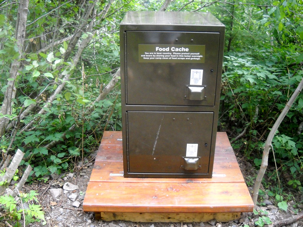 Bear-Proof Food Cache - HBC Heritage Trail