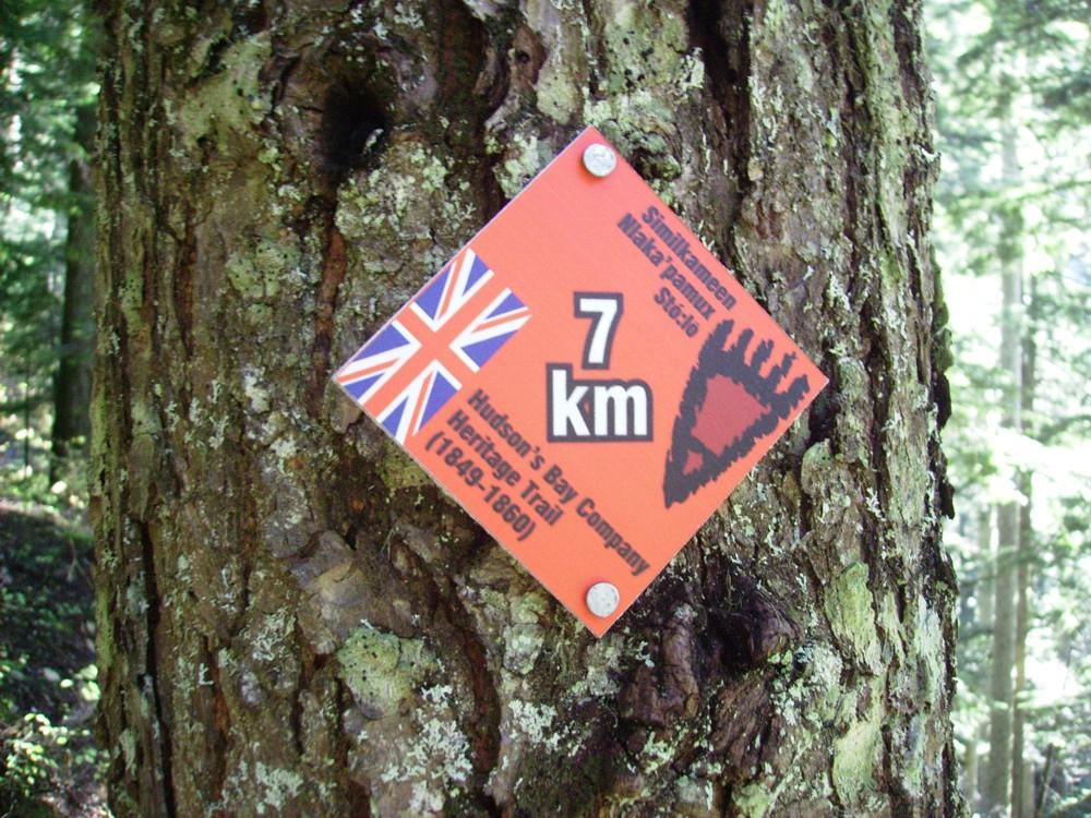 HBC KM Marker - HBC Heritage Trail