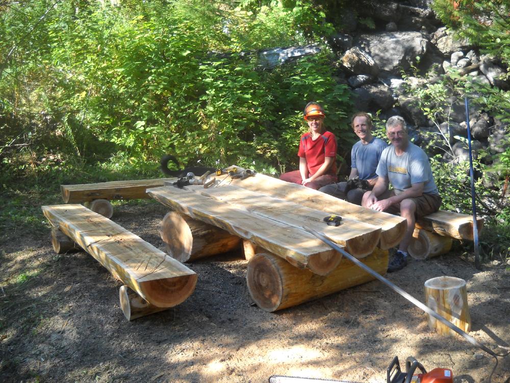 Picnic Table - HBC Heritage Trail
