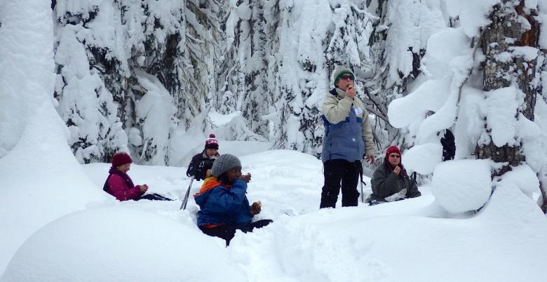 Women's Snowshoe Hope Mountain Centre