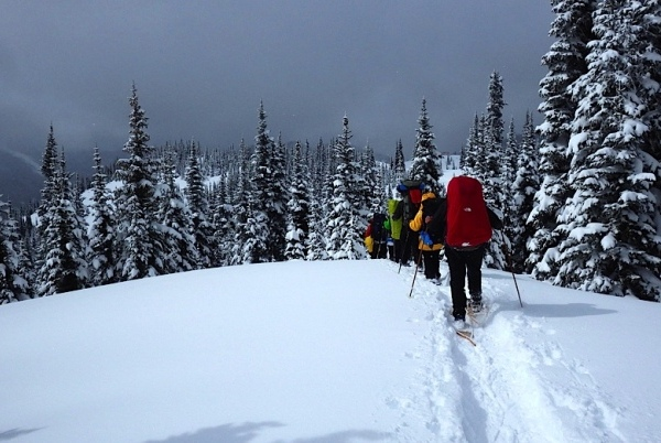 Snow Camping in Manning Park