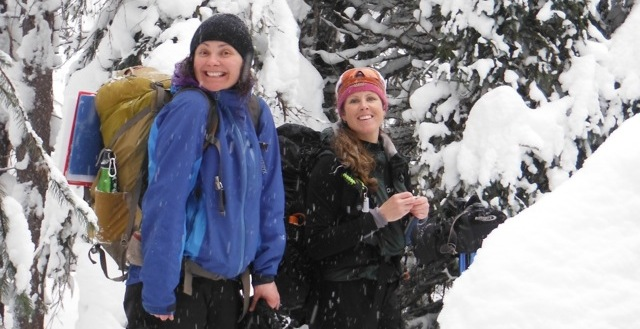 Women's Snowshoe at Manning Park