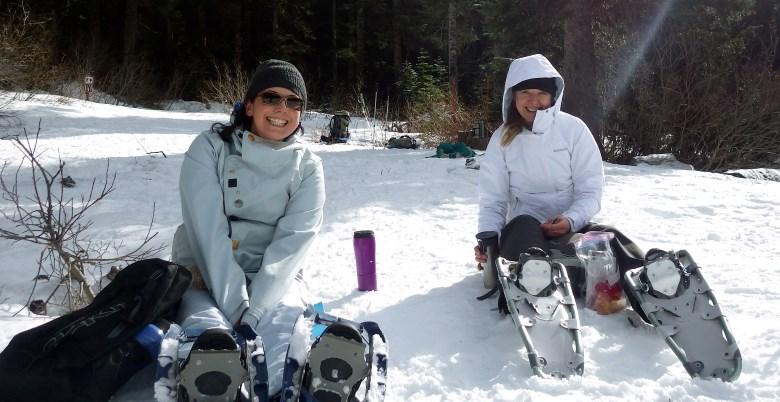 Womens Snowshoe 2015