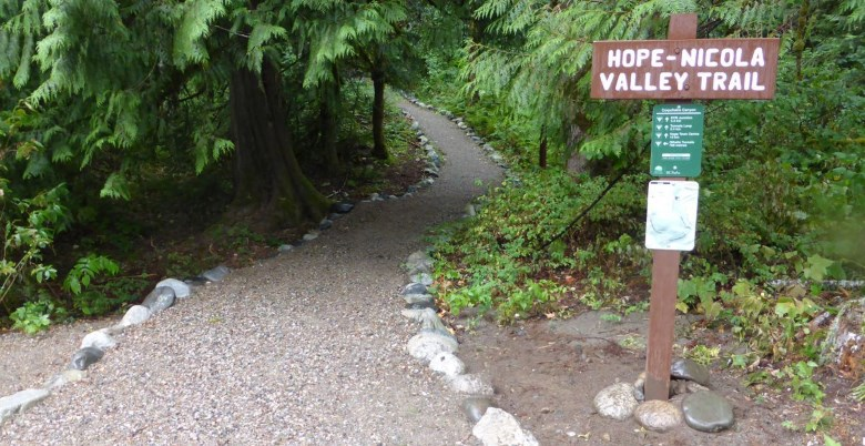 Hope-Nicola Valley Trailhead