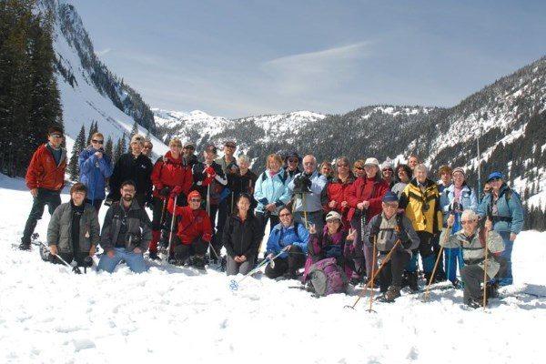 Snowshoe to Falls Lake