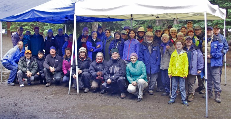 Group shot at 2016 Manning Park Bird Blitz