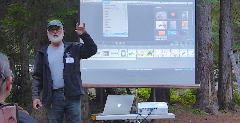 Manning Park Bird Blitz speaker John Gordon 2019