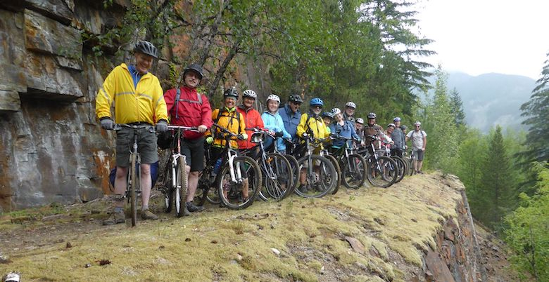Kettle Valley Railway Bike Ride
