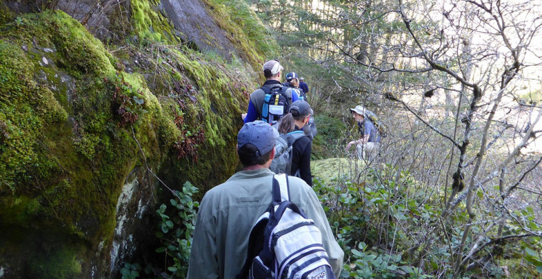 GPS-Hiking the Trail - Hope Mountain Centre