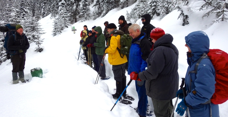 Cambie Creek Family Snowshoe
