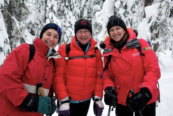Hope Mountain Centre Women's Snowshoe