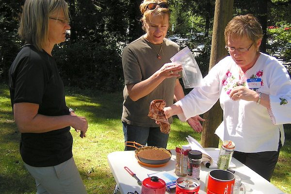 Backcountry cooking class