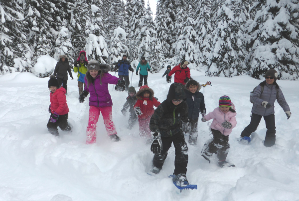 Family Day Snowshoe